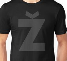 Žižek's Ž (big, darkgray, stylish Z) Unisex T-Shirt