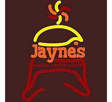 Jayne's Horse Steakhouse. Photographic Print