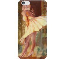 Marilyn Monroe - Chicago, study. iPhone Case/Skin