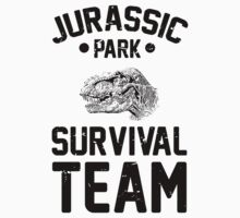 Jurassic Park Survival Team by Six 3