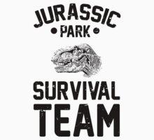 Jurassic Park Survival Team by J B