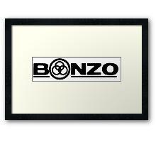 John Bonham (Bonzo) Symbol  Framed Print