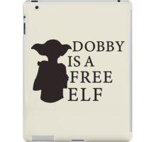 Dobby is a free elf - Type 2 iPad Case/Skin