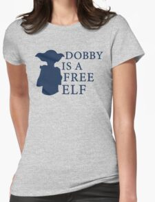 Dobby is a free elf - Type 2 Womens Fitted T-Shirt
