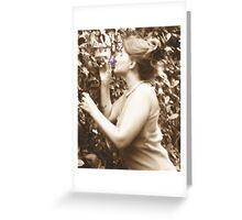 Preraphaelite Greeting Card