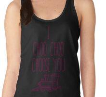 I Choo Choo Choose You Valentines Gift Women's Tank Top
