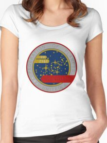 United Federation of Planets Women's Fitted Scoop T-Shirt