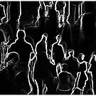 Black and White Crowd #1 by Mark Ross