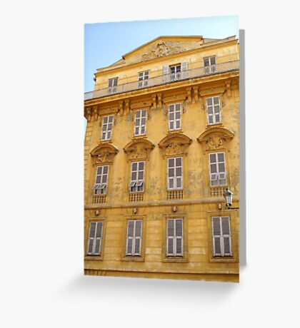Historic Building Nice France Greeting Card