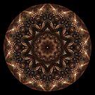 Bronze Metal Kaleidoscope by fantasytripp