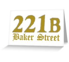 Baker Street Greeting Card