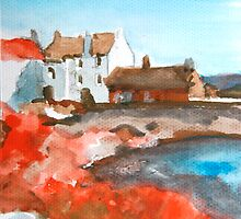 Fishing Nets at Pittenweem by Adele Gregory