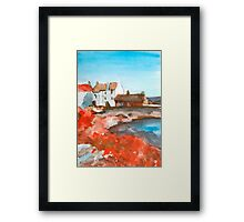 Fishing Nets at Pittenweem Framed Print