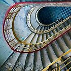 The Blue Tiles by Angelika  Vogel