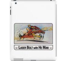 He-Man - Laser Bolt - Trading Card Design iPad Case/Skin