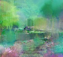 Pastel Impressions of Monet's Water Lily Pond by Carla Parris