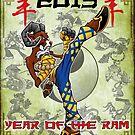 Year of the Ram by cowboyreddevil