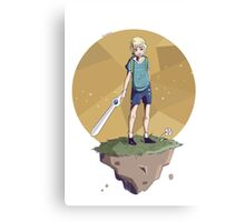 Young Adventurer  Canvas Print