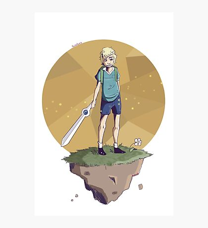 Young Adventurer  Photographic Print