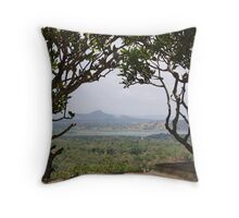 A Hole in the Trees Throw Pillow