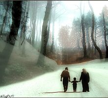 Camino a casa by Daniela M. Casalla