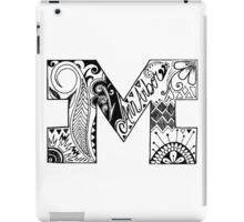Michigan Block M  iPad Case/Skin