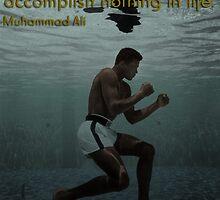 Muhammad Ali - Courage by 90smovieshirts
