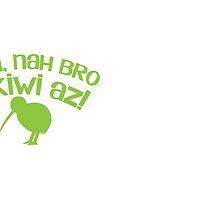 Yeah Nah bro I'm KIWI AZ! by jazzydevil