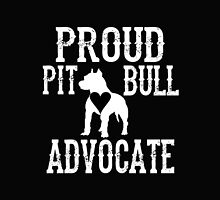 Proud Pit Bull Advocate? by kingoftshirts