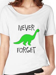 Never Forget Women's Relaxed Fit T-Shirt