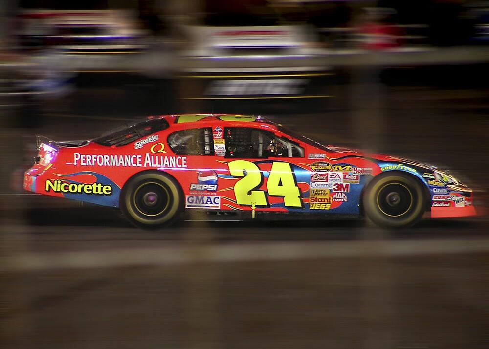 Jeff Gordon's Cup Car - Charlotte, N.C. by Kenneth Krolikowski