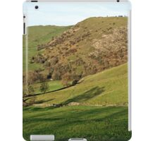 Across Thorpe Cloud to Bunster Hill iPad Case/Skin