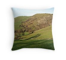 Across Thorpe Cloud to Bunster Hill Throw Pillow