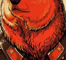 Soviet Bear - Work Harder Comrade Sticker