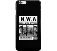 N.W.A. Nerds With Attitude iPhone Case/Skin
