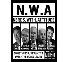 N.W.A. Nerds With Attitude Photographic Print