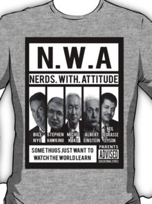 N.W.A. Nerds With Attitude T-Shirt