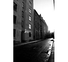 Glasgow Backstreets Photographic Print