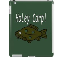 Holey Carp! iPad Case/Skin