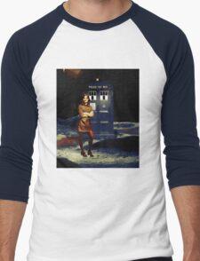 Clara Oswald Men's Baseball ¾ T-Shirt
