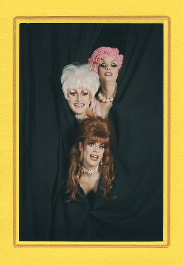 Imperial Drag Queens, Sydney, Australia by Cathie Brooker