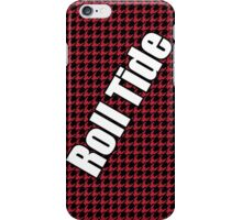 houndstooth, Alabama, Roll Tide iPhone Case/Skin