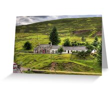 Cottages by the Burn Greeting Card