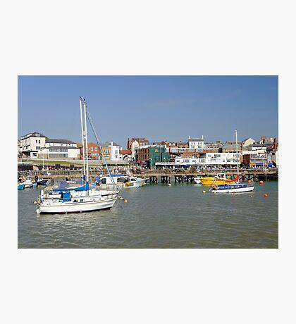 Bridlington Harbour Scene 02 Photographic Print