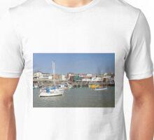 Bridlington Harbour Scene 02 Unisex T-Shirt