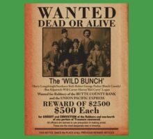 The Wild Bunch Wanted Poster One Piece - Short Sleeve