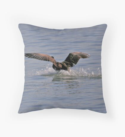 Clear the run-way Throw Pillow
