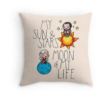 Game of Thrones - Daenerys & Khal Drogo Throw Pillow