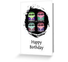 Pop Kombi Birthday Card Greeting Card
