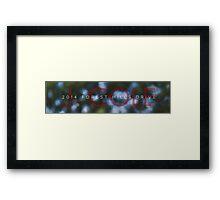J. Cole 2014 forest hills drive Framed Print